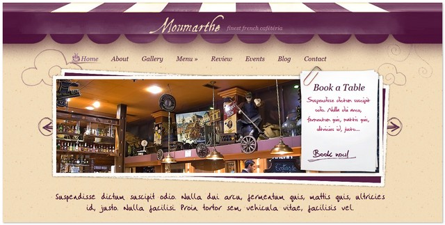 Monmarthe Cafeteria Theme